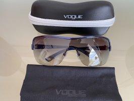 Vogue Gafas de sol ovaladas azul-azul acero