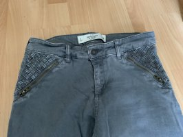 Abercrombie & Fitch Tube jeans grijs