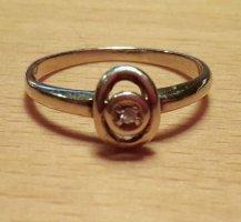 Vorsteckring 585 GG Diamant