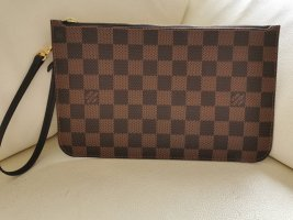 Louis Vuitton Clutch bronze-colored-dark brown