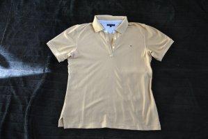 Hilfiger Koszulka polo beżowy Bawełna