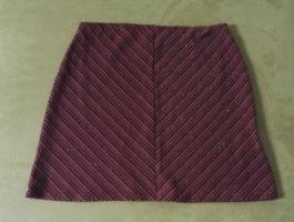 W19 Stretch Minirock Glitzer Streifen Pink/Bunt von ImPuls Gr.M w.Neu