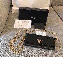 Prada Wallet black-gold-colored