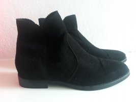 Walter Bauer Chelsea Boots black leather