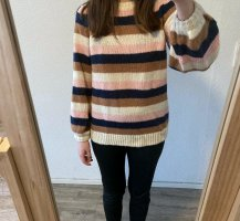 Warehouse Pull tricoté multicolore