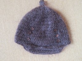 Visor Cap multicolored angora wool