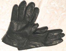Leren handschoenen zwart-room Leer