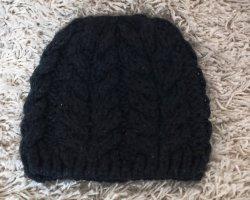 H&M Cappello a maglia nero Cotone