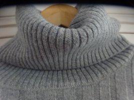 Heinzelmann Wool Sweater light grey-grey new wool