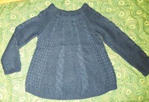 warmer, locker geschnittener Strickpulli mit Wolle