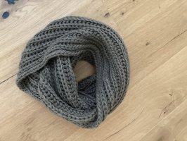 Pieces Gebreide sjaal khaki
