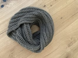 Pieces Knitted Scarf khaki