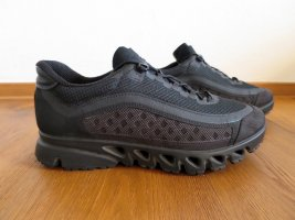 Ecco Wedge Sneaker black mixture fibre