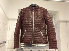 Oakwood Leather Jacket bordeaux leather