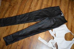 Nakd Pantalón de cintura alta negro