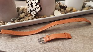 Fossil Watch With Leather Strap multicolored