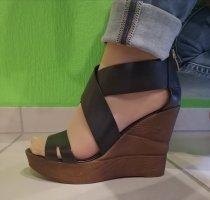 Bullboxer High Heel Sandal black-brown