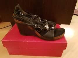 Apepazza Wedge Sandals black