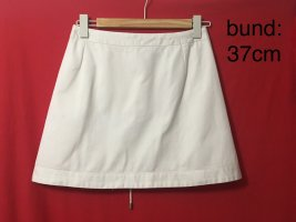 Weekday Wraparound Skirt white cotton