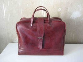 Weekender Bag bordeaux leather