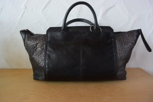 Liebeskind Berlin Weekender Bag black-gold-colored leather