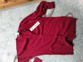 Cashmere Jumper dark red cashmere