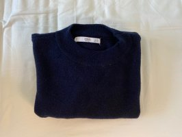 Weicher Pullover in Dunkelblau