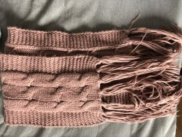 Accessorize Knitted Scarf dusky pink-pink