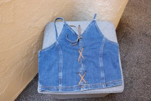 #Weiches Jeans-Top, Gr. 36, #dunkelblau, #X-Mail, #hochwertig
