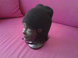 Bonnet noir-doré