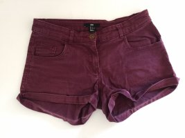 Weinrote Shorts *H&M*