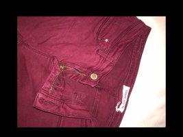 Weinrote skinny jeans von tally weijl