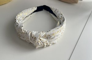 Hair Circlet white-gold-colored