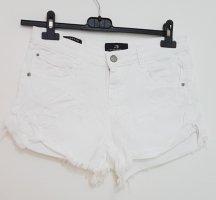 LTB High-Waist-Shorts white