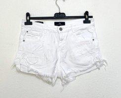 LTB Short en jean blanc