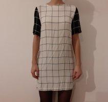Weiß/Schwarzes Kleid von Topshop