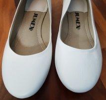 weiße Ballerinas von Jumex in Größe 38