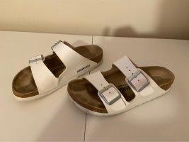 Birkenstock Sandalias cómodas blanco