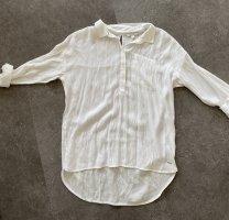Tom Tailor Denim Blouse oversized blanc