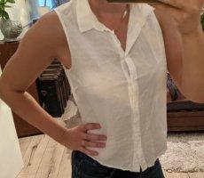 Dividend Cols de blouses blanc