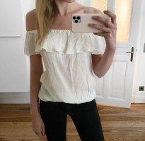 Weiße Bluse von Jacqueline de Yong