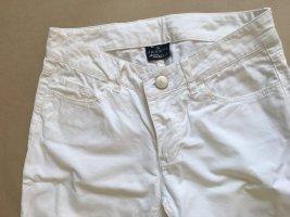 Jeans 3/4 blanc