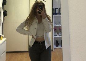 weiße Esprit Jeansjacke