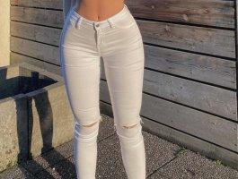 Weiße Fashion Nova Hose