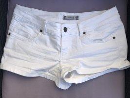 Weiße Hot Pants