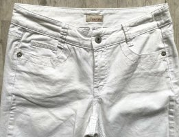 Apriori Stretch jeans wit Katoen