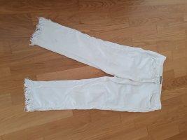 Gustav Stretch Jeans white