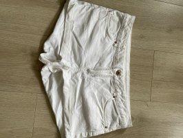 Devided von H&M Short moulant blanc