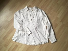 H&M Blusa de lino blanco-blanco puro