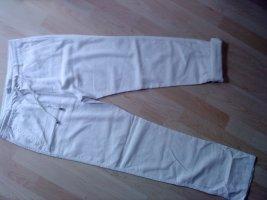 Atmosphere Pantalon en lin blanc